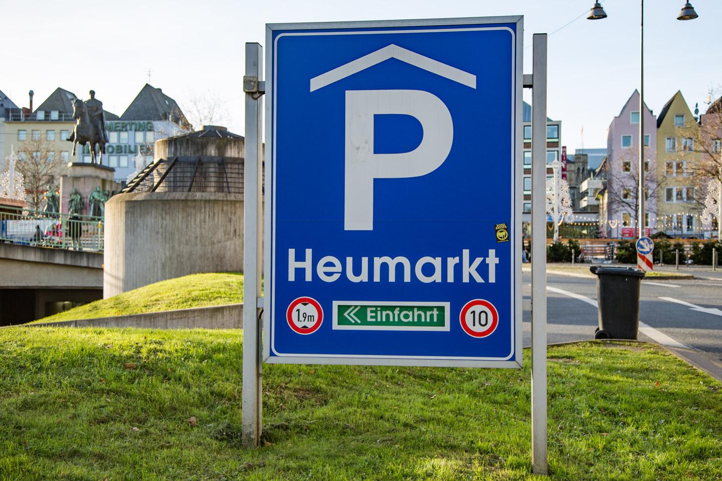 parkeren in Keulen